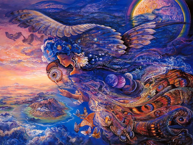 josephine wall fantasy painting queen of the night