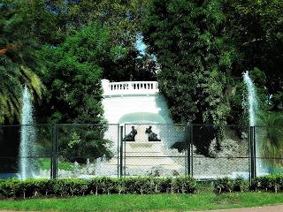 A Fonte do Parque Lezama, Buenos Aires