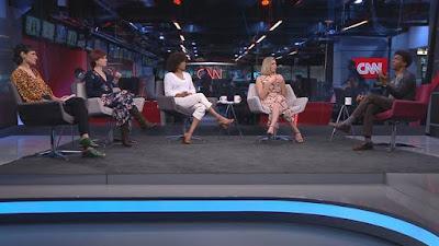 Hélio de La Peña é entrevistado por Lia Bock, Thais Herédia, Luciana Barreto e Daniela Lima - Divulgação