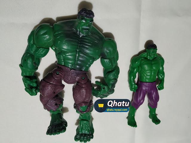 (Bs. 150) Combo Hulk: Figuras originales y articuladas