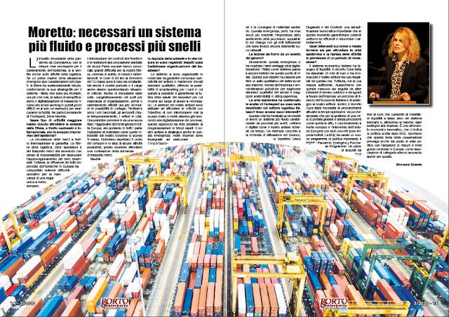 MARZO 2020 PAG. 14 - Moretto: necessari un sistema più fluido e processi più snelli