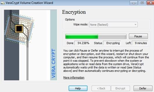 أفضل برامج التشفير لنظام التشغيل ويندوز
