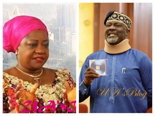 Buhari's aide Lauretta Onochie lambasts Dino Melaye
