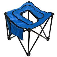 Ein klappbares Klo / Toilette für Reise, Camping und Overlanding. Faltbar und kleine Packmasse