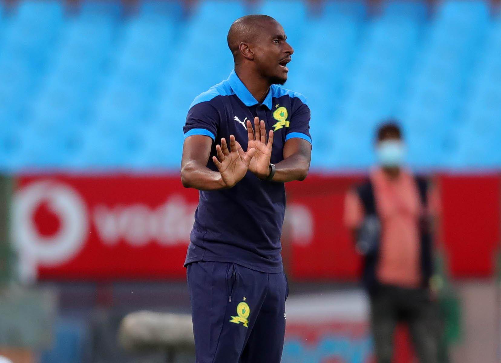 Mamelodi Sundowns' co-coach Rhulani Mokoena