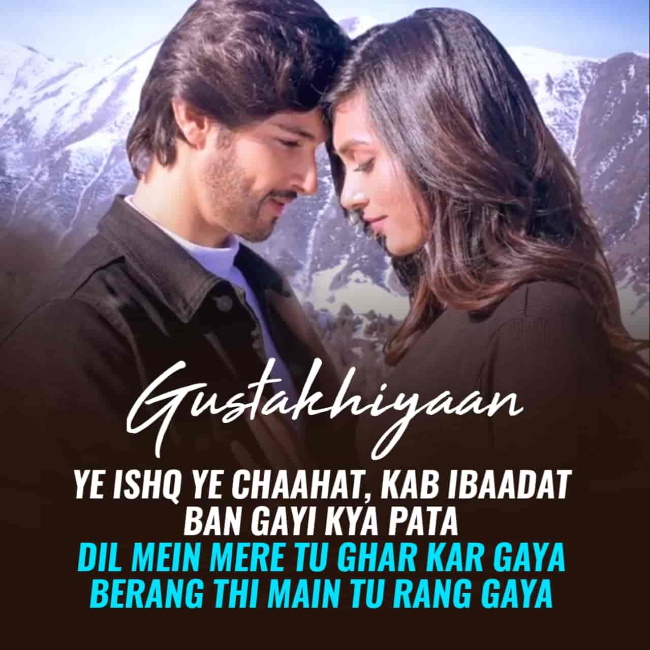 Gustakhiyaan Lyrics :- Raghav Chaitnaya and Ritrisha Sarma given their melodious voices in a beautiful track Gustakhiyaan has released. Actor Rohan Mehera and Vaishnavi Andale are featuring in this song as a lead roles. Music of this song has given by Anurag Saikia while this beautiful track Gustakhiyaan lyrics has penned by Kaushal Kishore. Video of this song has directed by Sidhaant Sachdev. This song is presented by Times Music label.