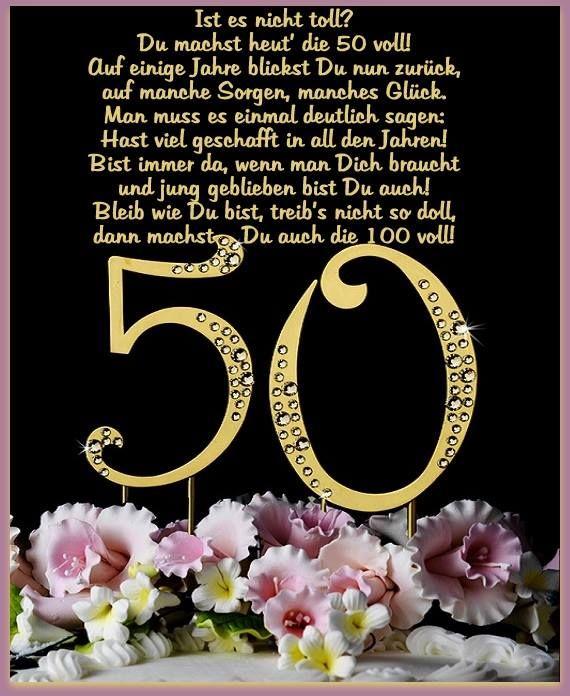 Geburtstagswünsche Zum 50 Bilder