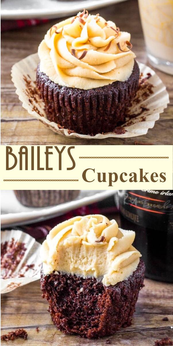 Baileys Cupcakes #cupcakerecipes