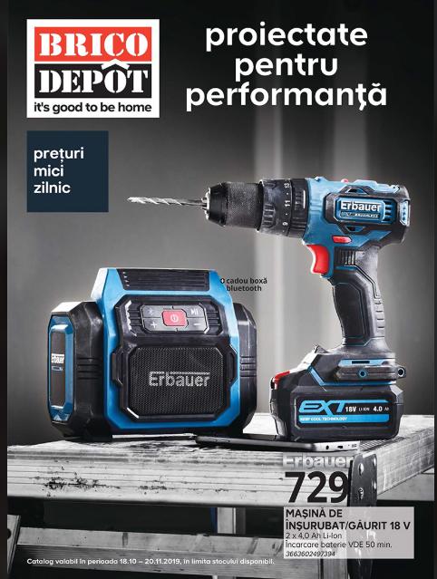 Brico Depot Promotii + Catalog - Brosura