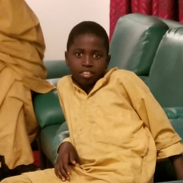 See Photos of The Only Boy Abducted & Released With Dapchi  Abducted Schoolgirls