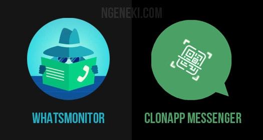 WhatsMonitor dan AppClone Messenger