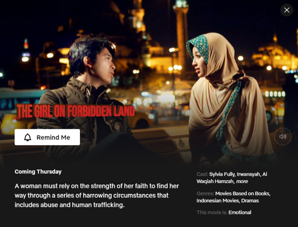 The Girl on Forbidden Land - 26 November 2020