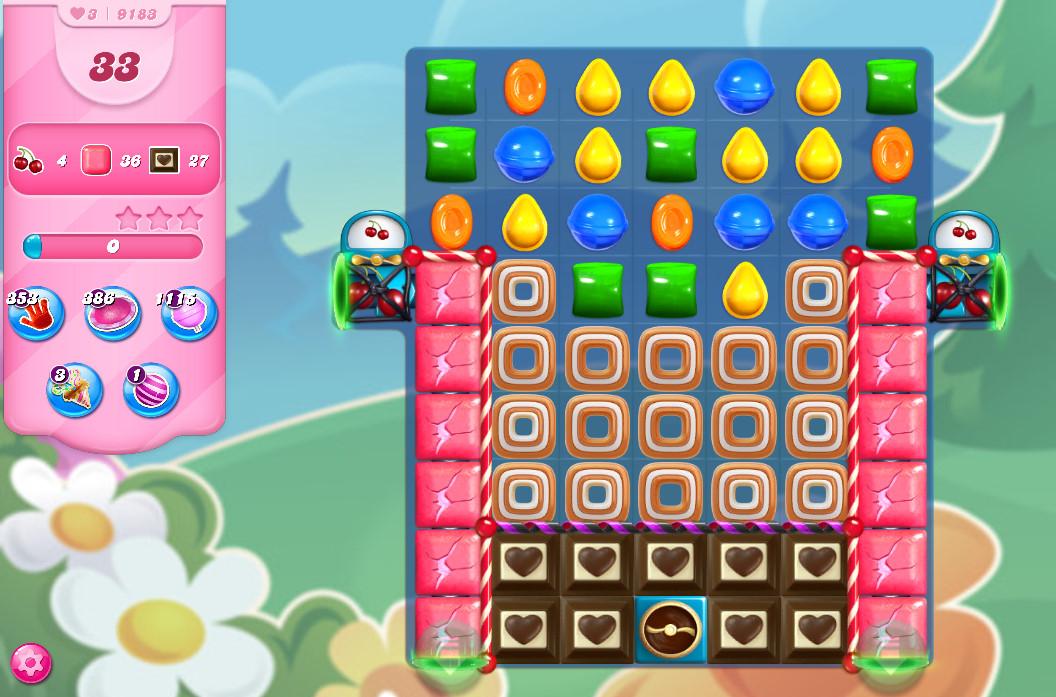 Candy Crush Saga level 9183