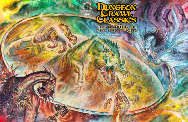 Dungeon Crawl Classics, RPG no estilo Old School, terá nova editora no Brasil