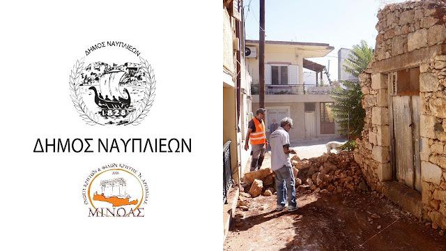 O Δήμος Ναυπλιέων αρωγός στην συγκέντρωση βοήθειας για τους σεισμοπαθείς στην Κρήτη