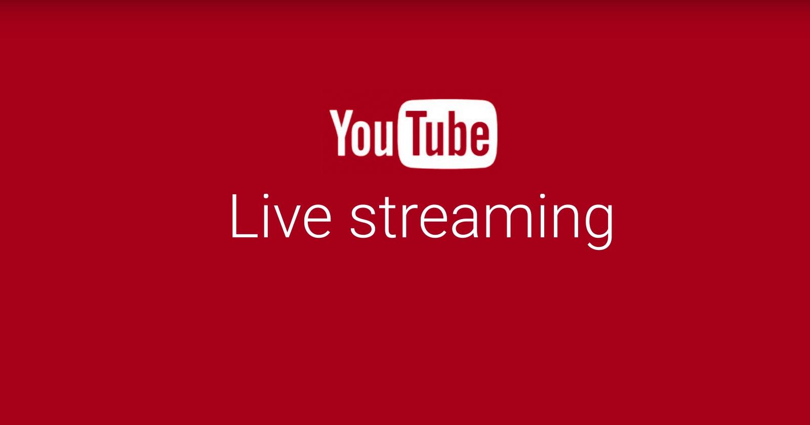 Cara Mulai Live Streaming di YouTube Melalui Smartphone