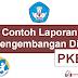 Download Contoh Laporan Pengembangan Diri PKB Kurikulum 2013