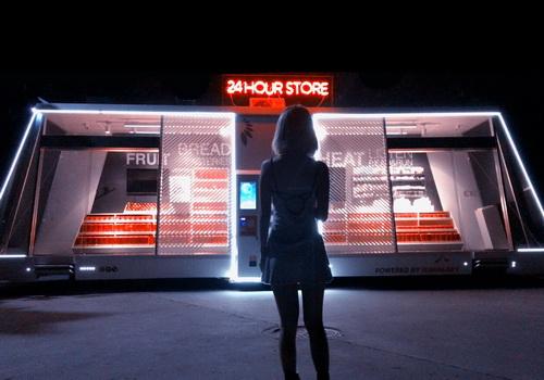Tinuku Moby Mart a self-service shop adopting AI by Wheelys