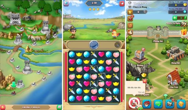 Poki mobile là tựa game mới có lối chơi giống loạn 12 sứ quân android 0