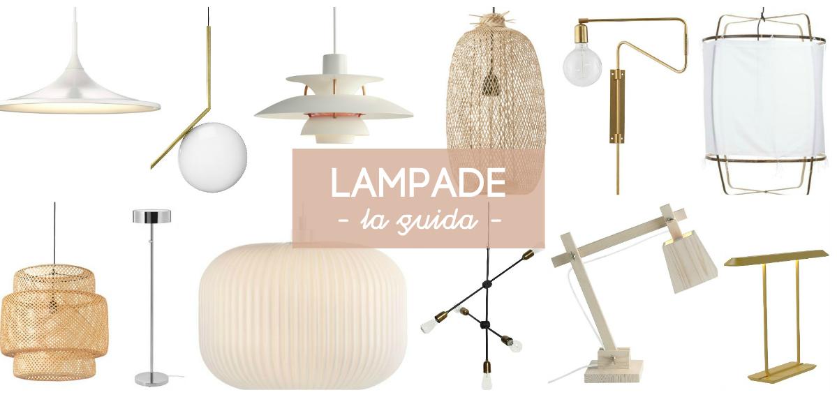 Lampade: la guida stanza per stanza
