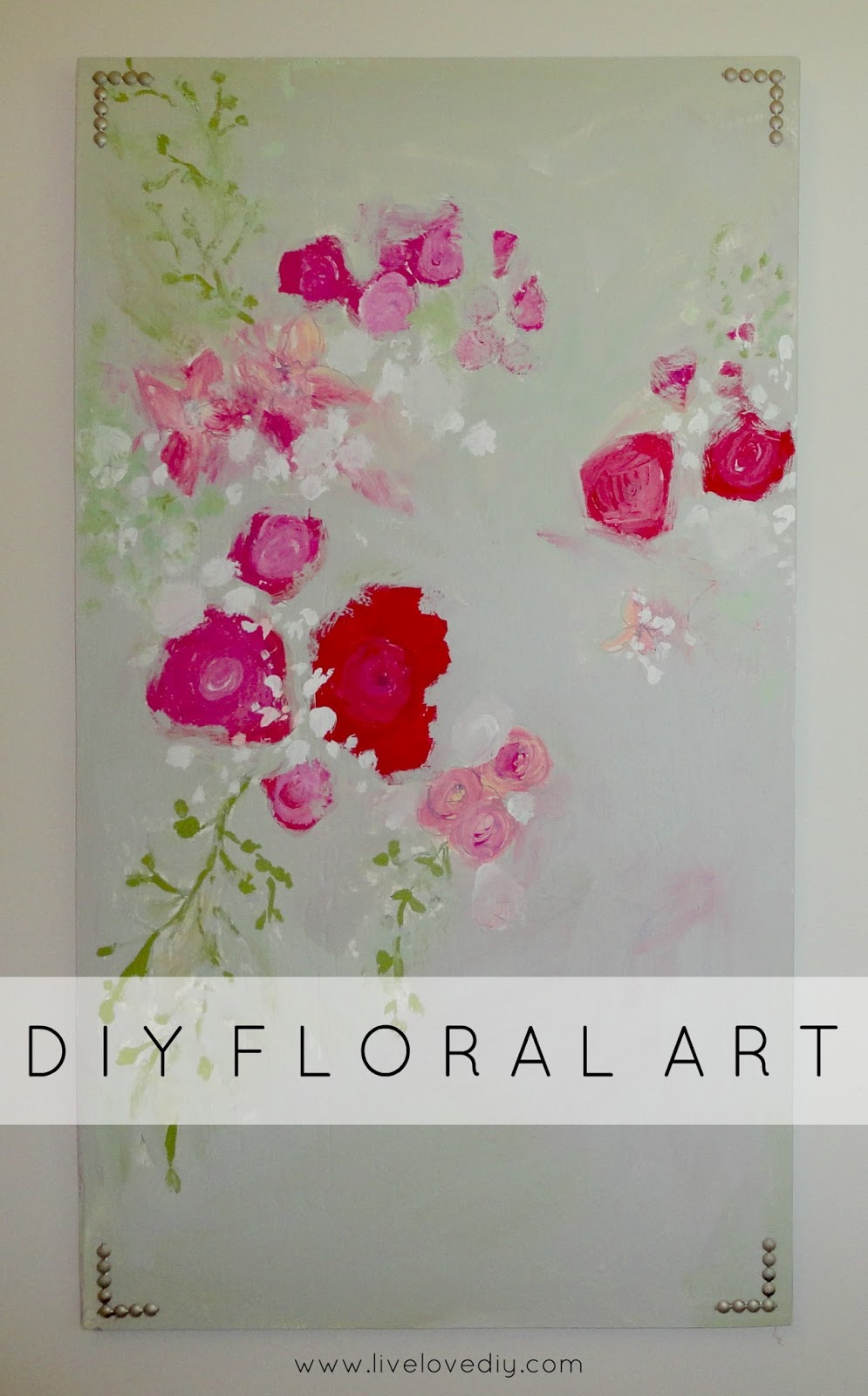 & LiveLoveDIY: 10 DIY Art Ideas: Easy Ways to Decorate Your Walls!