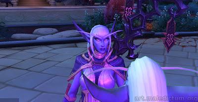 World of Warcraft: Legion, сурамаркская эльфийка