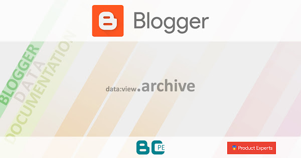 Blogger - data:view.archive