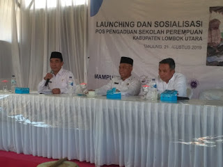 Asisten III Buka Sosialisasi Pos Perlindungan Perempuan di Lombok Utara
