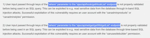 vBulletin cập nhật bản vá cho lỗ hổng RCE và SQLi mới - CyberSec365.org