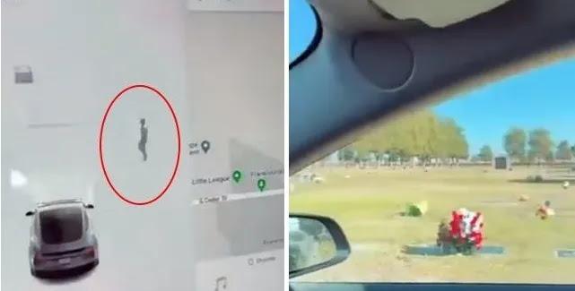 Οι αισθητήρες αυτοκινήτων Tesla ανιχνεύουν «ανθρώπινο φάντασμα» διπλά  σε νεκροταφείο (vid)