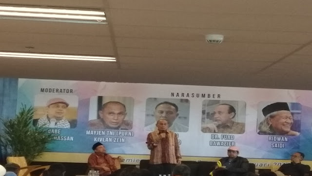 Duarrr... Kivlan Zein Sebut Wiranto Dalang Kerusuhan 98 dan Jatuhnya Presiden Soeharto