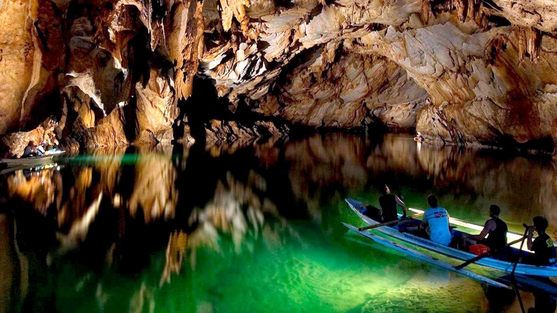 Подземная река Палавана на Филиппинах