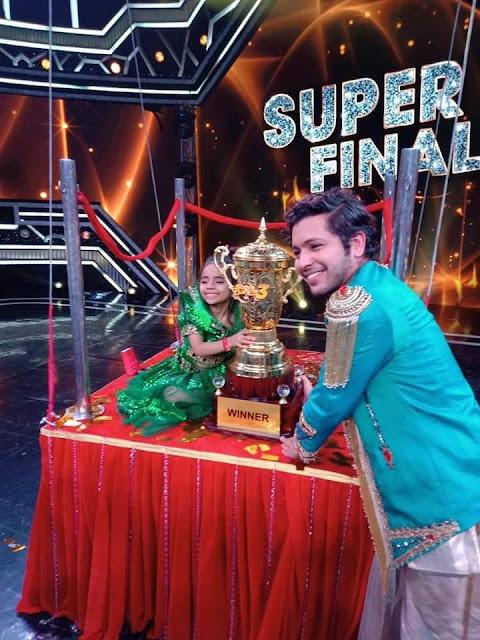 rupsa super dancer 3 winner