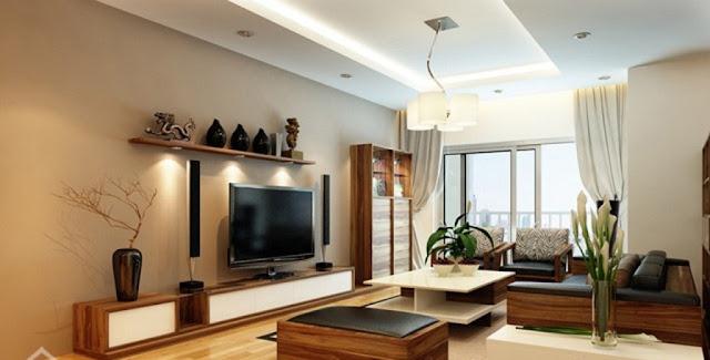 Phòng khách căn hộ Booyoung Vina