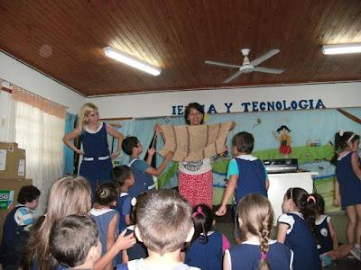 Ichoalay, Visitas, Escuelas, 2015, Charlas