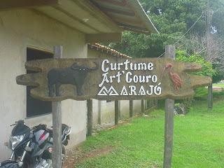 Curtume Art'Couro Marajó - Soure/PA.