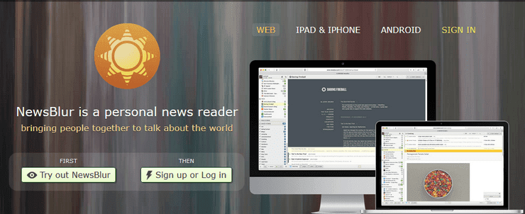 NewsBlur feed reader