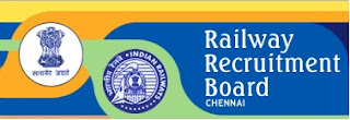 RRB Chennai Recruitment Notification (Sports Quota) 11.11.2017