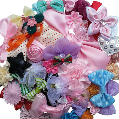 Make your own hair bows for your child's JoJo Siwa party