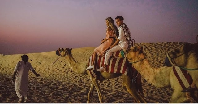 Romantic holiday for couples in Dubai