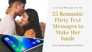 Flirty text for her