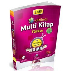 Anafen 8.Sınıf Türkçe Multi Kitap E-Çözümlü Soru Bankası