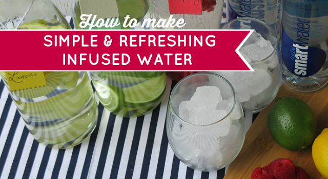 Simple & Refreshing Summer Drink Recipe Hacks - How To Make Simple Citrus and Berry Infused Water #HydrationToGo One Savvy Mom onesavvymom blog