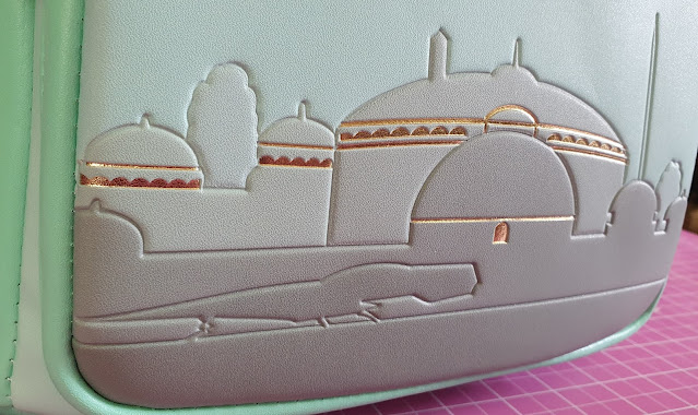 Loungefly Naboo Star Wars bag review 3d printed scene of Naboo on front