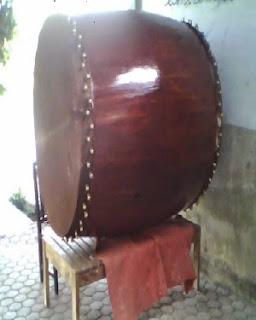 Jual Bedug Kecil Musholla ukuran 60 cm x 90 cm