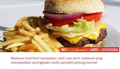 Makanan Penyebab Penyakit Jantung Koroner
