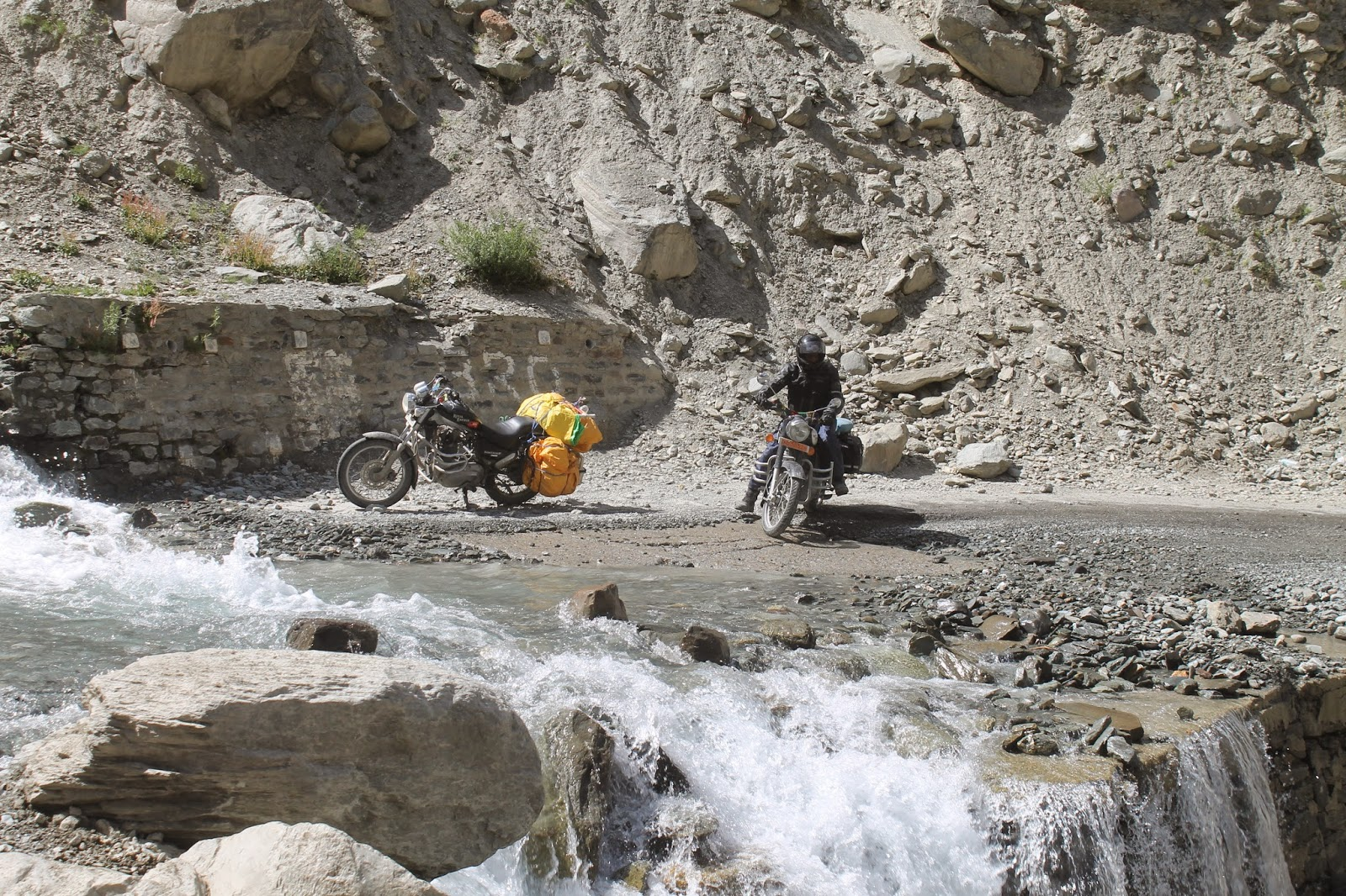 Biking in ladakh