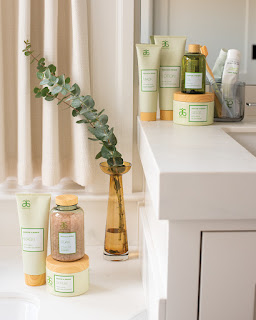 Arbonne's spa range - create a spa like experience in your own home