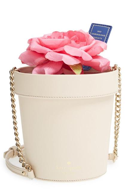 Bolsa vaso de flores para o Dia dos namorados