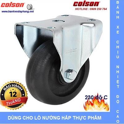 Các loại bánh xe đẩy chịu nhiệt độ cao Colson Caster Mỹ www.banhxeday.xyz